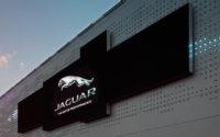 Wash Design create public art piece for Jaguar Land Rover